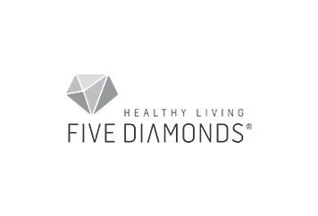 Five diamonds